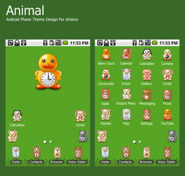 Animal-theme-for-android