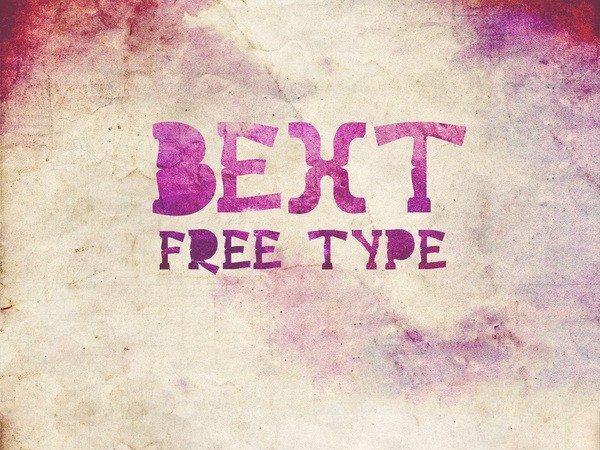 Bext type-free-font