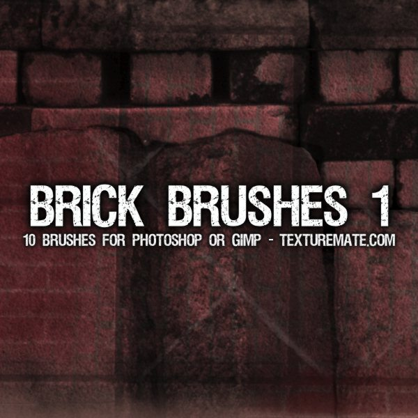 Brick Brushes 1 para Photoshop