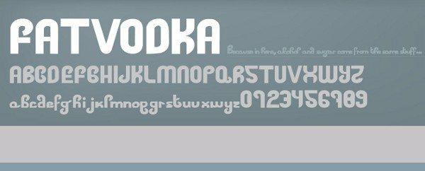 Fatvodka-free-font