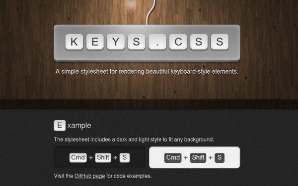 KEYS-CSS
