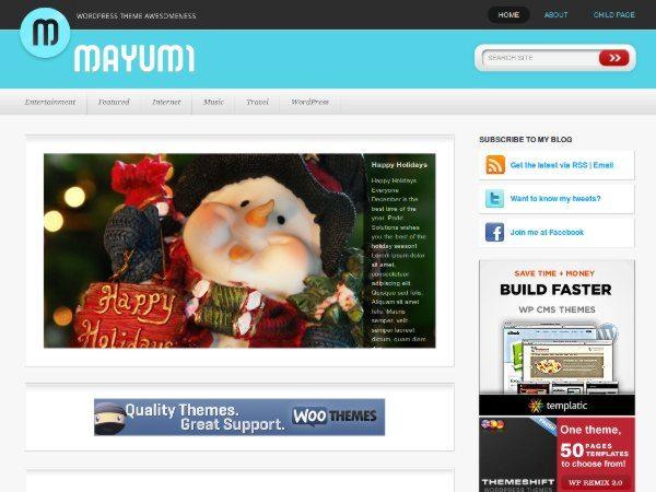 Mayumi-free-WordPress-theme