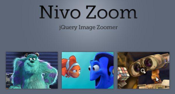 Nivo Zoom - jQuery Image Zoomer