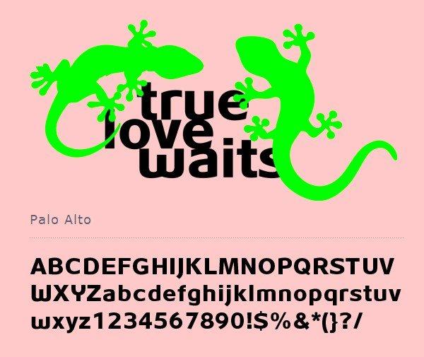 Palo-Alto-free-font