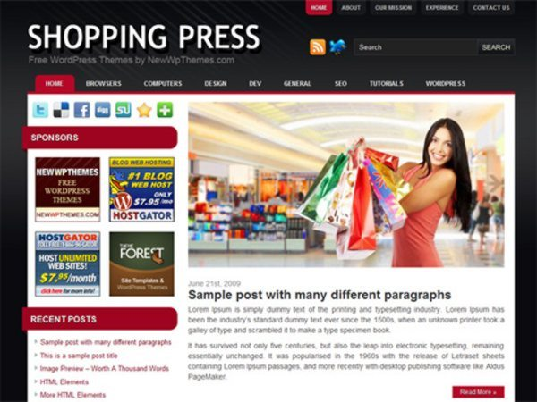 Shopping-Press-free-WordPress-theme