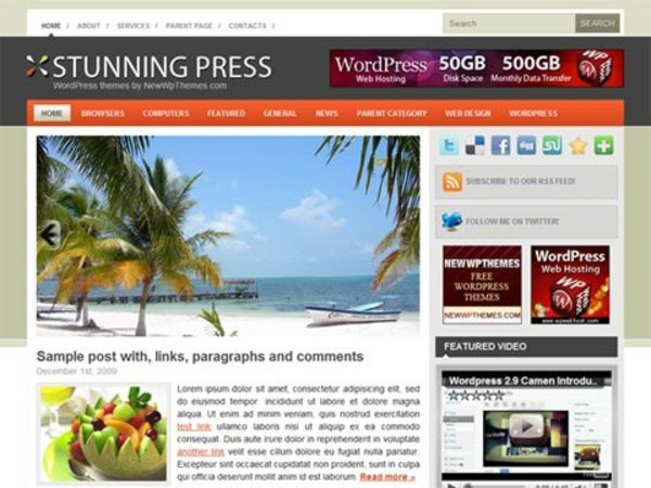 Stunning-Press-free-WordPress-theme