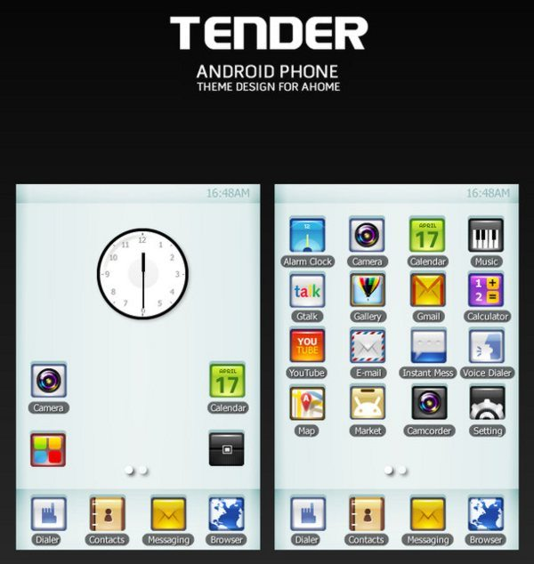Tender-Android-theme