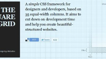 The Square Grid - CSS Framework