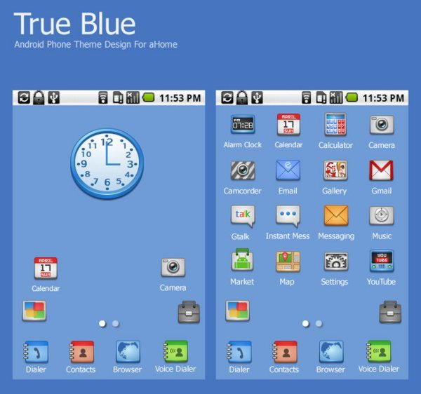 True-Blue-Adnroid-Theme