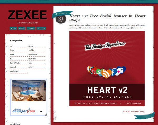 Zexee-free-WordPress-theme