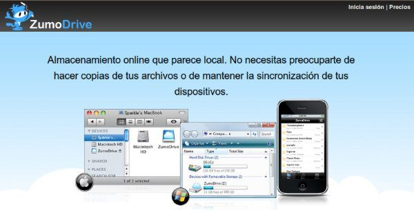 ZumoDrive - alojamiento online de archivos