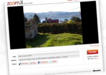 Zoom.it - servicio web para compartir imagenes