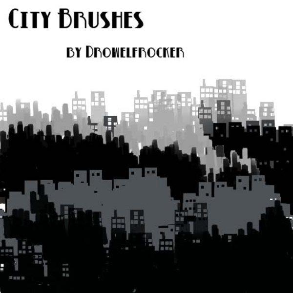 City-urban-brushes-for-Photoshop