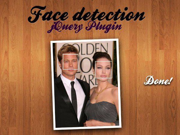 Face Detection - plugin jQuery para reconocimiento de rostros