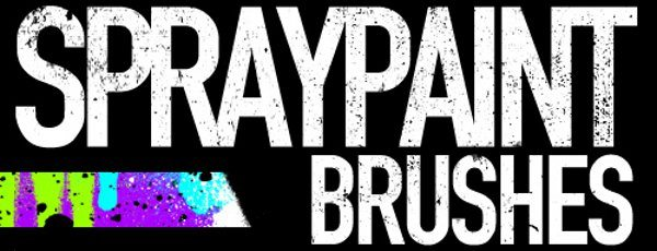 Spray Paint free brushes