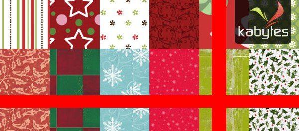Texturas de navidad
