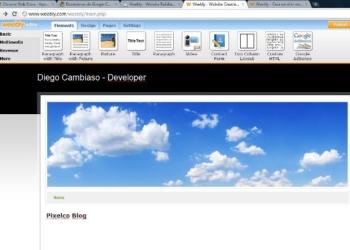 Weebly herramienta online de creación de páginas web