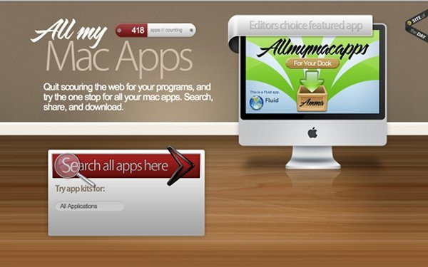 All my Mac apps - Directorio de aplicaciones para Mac OS X