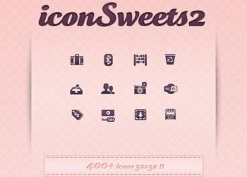 iconSweets2 - colección de iconos gratis