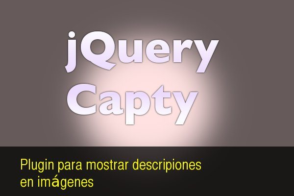 jQuery Capty plugin para mostrar descripcioens en imagenes