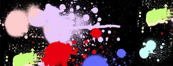 Spray paint brushes para Photoshop