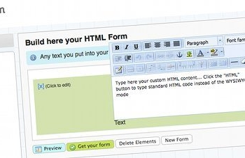 htmlform.com - Editor de formularios HTML