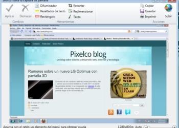 Shotty - interfaz, aplicación gratis para Windows