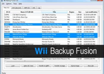Wii Backup Fusion - Aplicación gratis para copias de respaldo