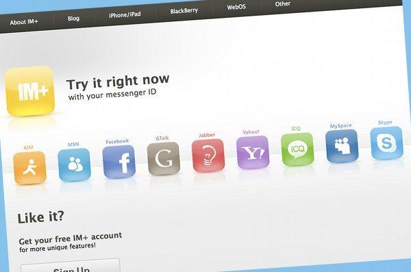 Plus.im - sistema de mensajeria online