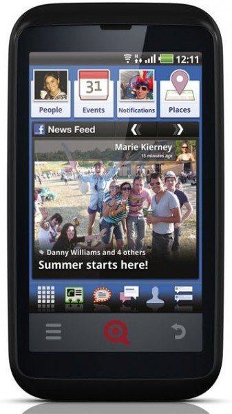 INQ Cloud Touch y el INQ Cloud Q facebook phones nuevos