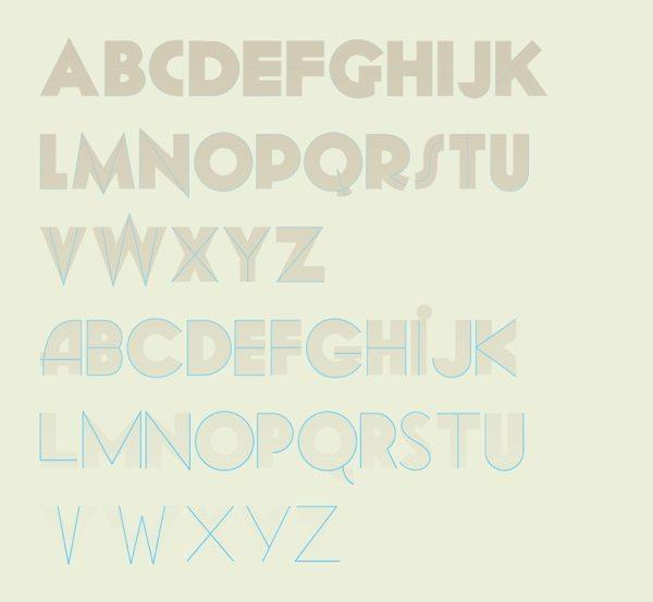 Geomancy - free font