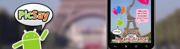 PicSay: editor de fotos gratuito para Android