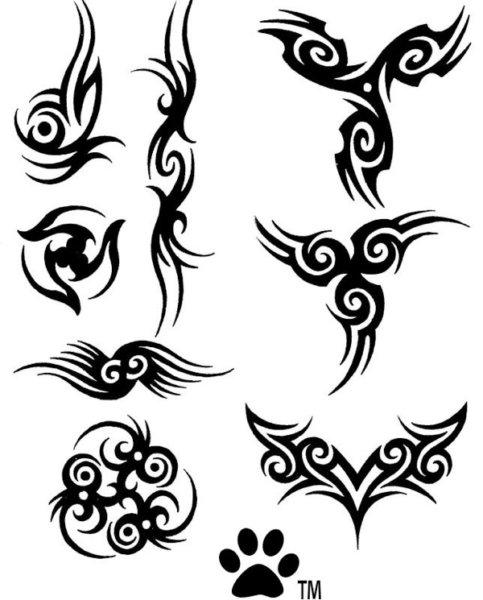 10 Hermosas Brushes Gratuitas Para Photoshop De Tatuajes Tatoo