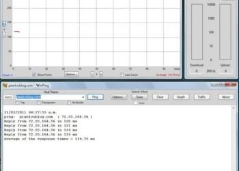 WinPing - Interfaz, aplicación portable para Windows