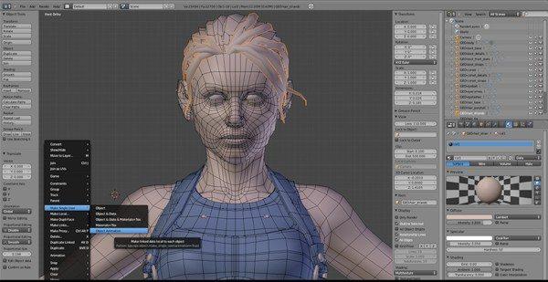 Blender programa de animación 2D y 3D