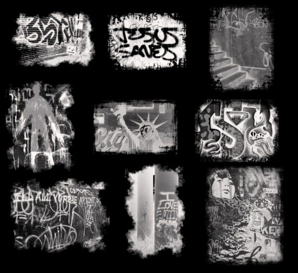 Graffiti brushes para Photoshop