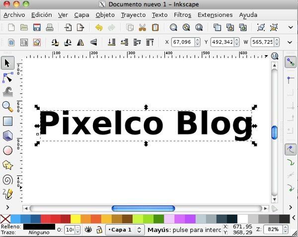 Inkscape editor de imagenes vectoriales