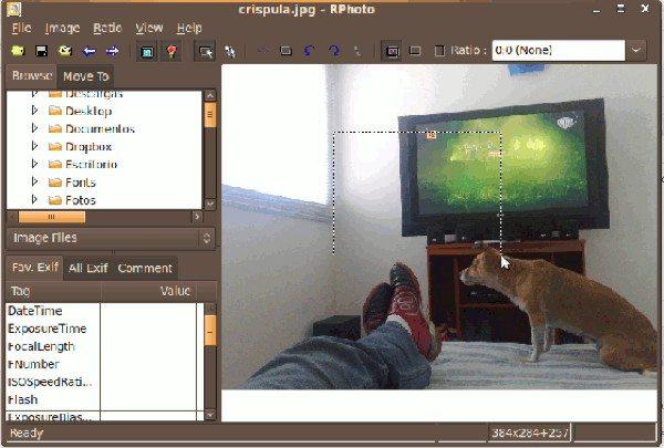 RPhoto - editor de imágenes para Linux