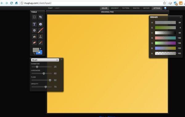 Sketchpad editor a mano alzada para Google Chrome