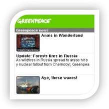 Interfaz - GREENPEACE NEWS
