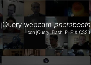 jQuery Webcam Photobooth