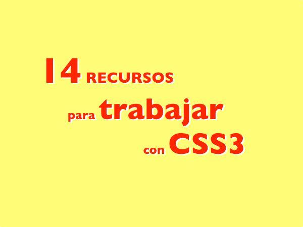 14-Recursos-para-trabajar-con-CSS3 14 Recursos para trabajar con CSS3