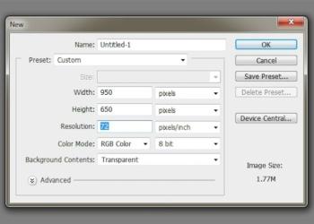 Abre el Photoshop - Tutorial Photoshop: Cómo Crear Fondos Texturizados