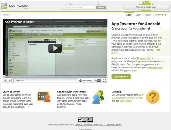 App Inventor herramienta online para crear aplicaciones para celulares con Android