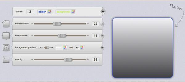 CSS3-generator-vista-previa 14 Recursos para trabajar con CSS3