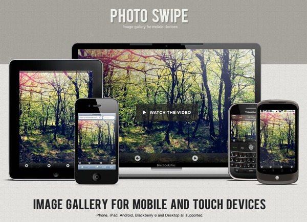 Photo Swipe galería de imágenes para dispositivos móviles