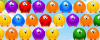 Bubble Birds blackberry juegos arcade clasicos
