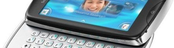 Sony Ericsson Txt Pro nuevo movil con teclado qwerty new novedades