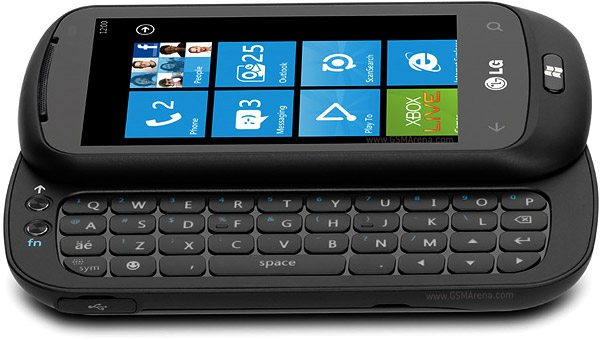 2 LG Optimus 7Q con Windows Phone 7 teclado QWERTY nuevo movil