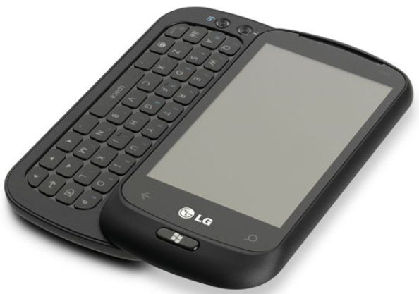 3 LG Optimus 7Q con Windows Phone 7 teclado QWERTY nuevo movil